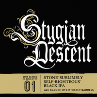 Stone Stygian Descent label