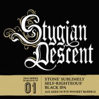 Stone Stygian Descent label