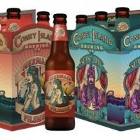 Coney Island Brewing packaging