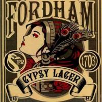 Fordham Gypsy Lager label