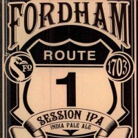 Fordham Route 1 Session IPA label