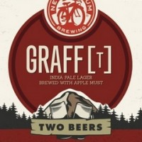 Grafft Two Beers New Belgium Label