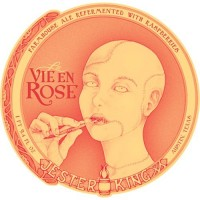 Jester King La Vie en Rose Farmhouse Ale label