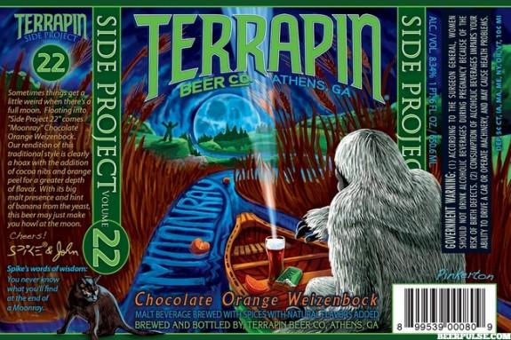 Terrapin Moonray beer label