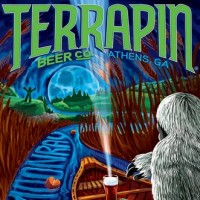 Terrapin Moonray beer label