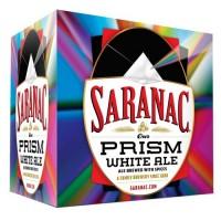 Saranac Prism White Ale pack 500