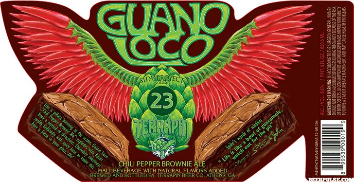 Terrapin Guano Loco Chili Pepper Brownie Ale