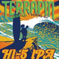Terrapin Hi-5 IPA label