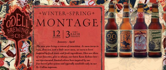 Odell Winter Spring Montage Pack Arrives Featuring Wolf