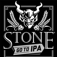 Stone Go To IPA label