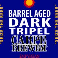 Carpe Brewem Barrel Aged Dark Tripel