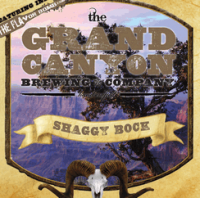 Grand Canyon Shaggy Bock label