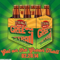 ithaca green trail label