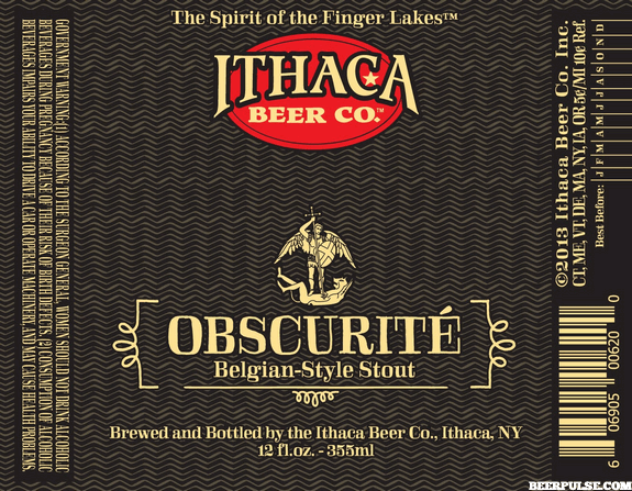 Ithaca Obscurite Belgian Stout