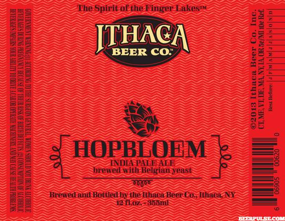 Ithaca Hopbloem Belgian IPA