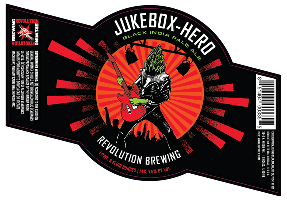 Revolution Jukebox-Hero Black IPA