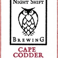 Night Shift Cape Codder Weisse label