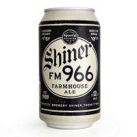 Shiner FM 966 Farmhouse Ale can