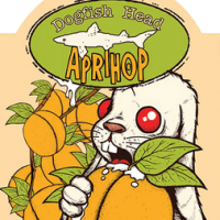 dogfish aprihop ipa label