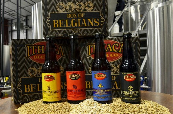 ithaca box of belgians pic