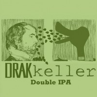 Drakkeller Double IPA label