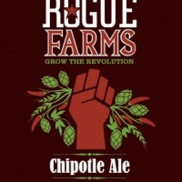 Rogue Farms Chipotle Ale label