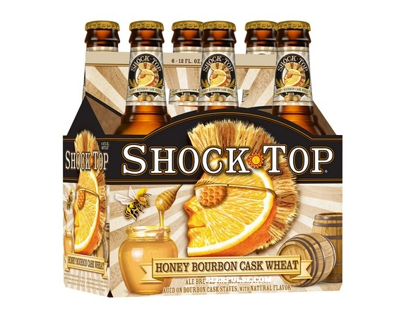 Shock Top Bourbon Cask Honey Wheat 6pack