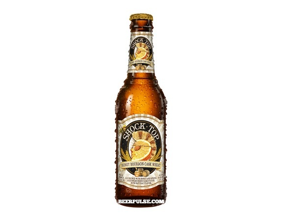 Shock Top Honey Bourbon Cask Wheat 12OZ BTL