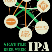 Six Degrees of Collaboration Seattle Beer Week IPA