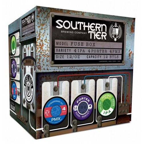 southern tier fuse box variety pack arrives beerpulse rh beerpulse com Southern Tier Aids Program Southern Tier Bassmasters