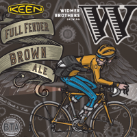 Widmer Brothers Full Fender Brown Ale KEEN label