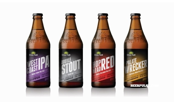 Alabama Starting Lineup >> Green Flash Brewing Co. shows off redesign, set to roll ...