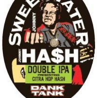 sweetwater johnny hash double ipa label
