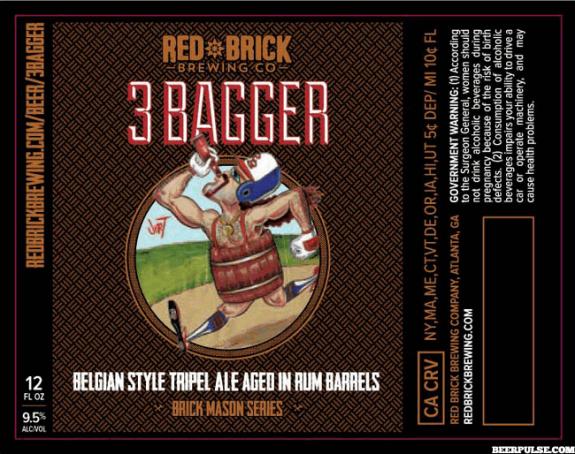 Red Brick 3 Bagger Belgian Tripel Aged in Rum Barrels
