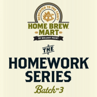 Ballast Point Homework Series Batch #3 English IPA label