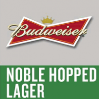 Budweiser Batch No. 32218 Noble Hopped Lager