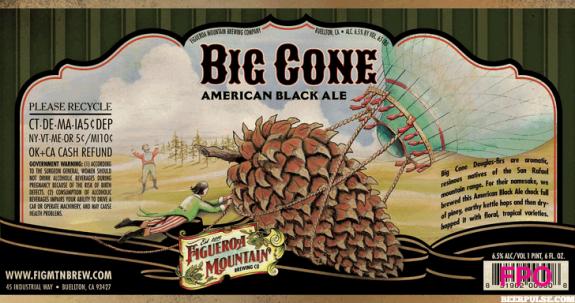 Figueroa Mountain Big Cone American Black Ale