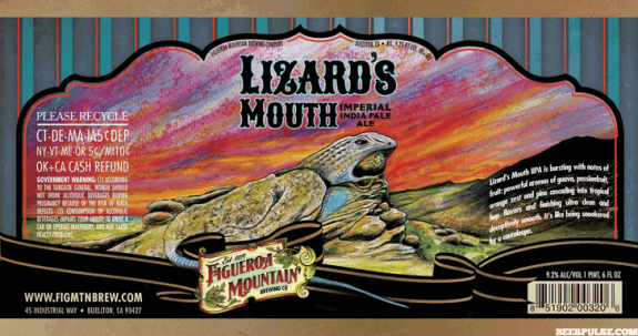 Figueroa Mountain Lizard's Mouth Imperial IPA