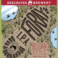 Deschutes Foray Belgian IPA label