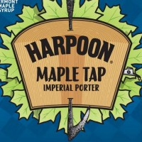 Harpoon Maple Tap Label 22oz