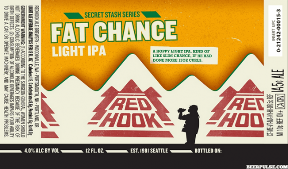 Redhook Fat Chance Light IPA