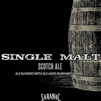 Saranac High Peaks Single Malt Scotch Ale