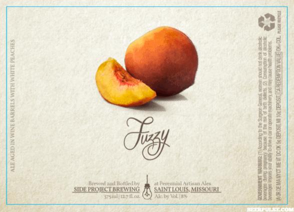Fuzzy mature peaches