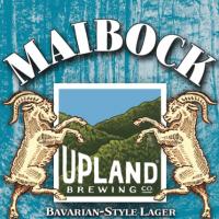 Upland Maibock label