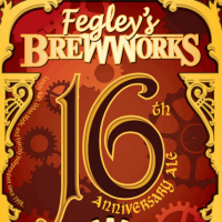 fegleys 16th anniversary ale label