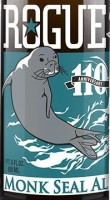 rogue monk seal ale logo