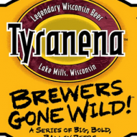 tyranana devil over a barrel label