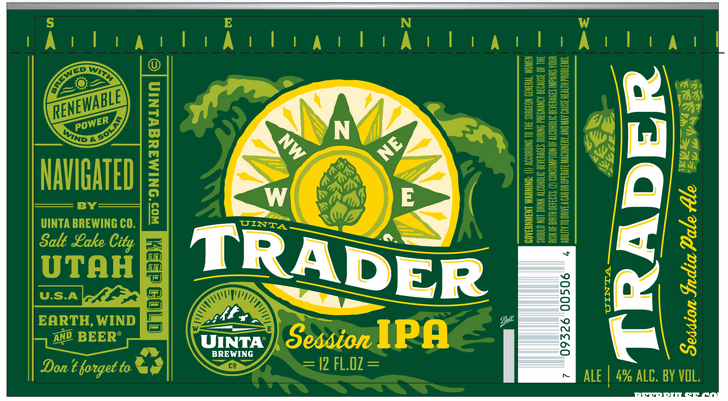 Uinta Trader Session IPA BeerPulse