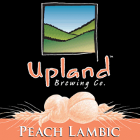 upland peach lambic label