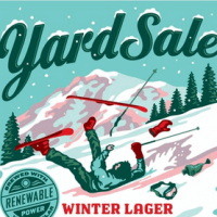 uinta yard sale label